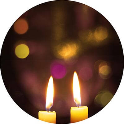 Shabbos-candles